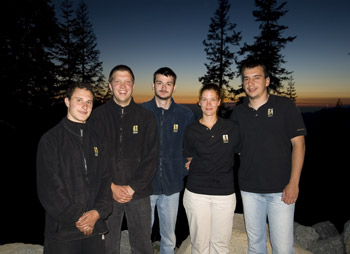 professional staff Sequoia High Sierra Camp