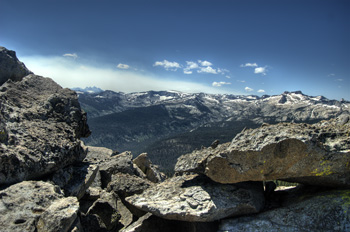 Numerous scenic and adventurous day hiking excursions are easily accessible from the Sequoia High Sierra Camp